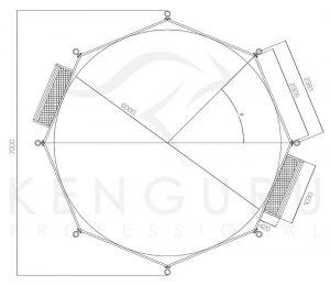 panna football dimensions